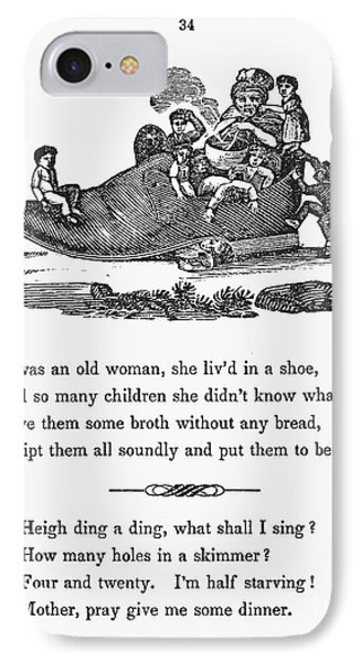 Mother Goose, 1833 IPhone Case