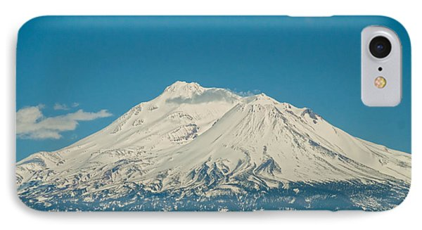 Mount Shasta IPhone Case by Carol Ailles