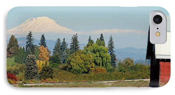 Mt. Adams In The Country Phone Case by Athena Mckinzie