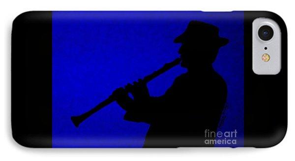 Music Man Phone Case by Julie Brugh Riffey