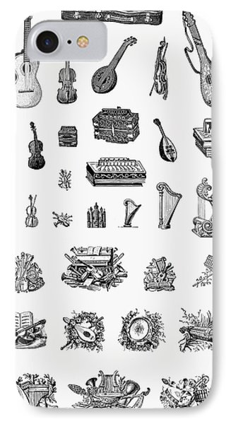 Musical Instruments Phone Case by Granger