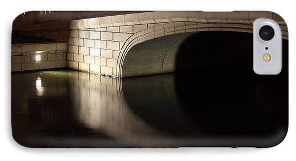 IPhone Case featuring the photograph Mystery Bridge by Scott Rackers