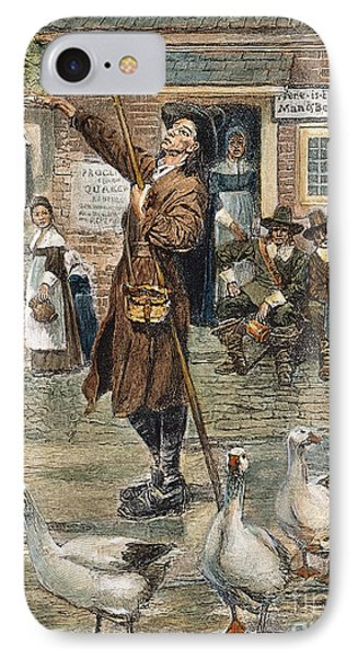 New England: Quaker, 1660 Phone Case by Granger