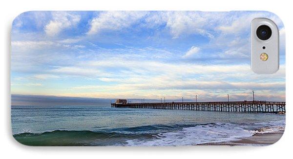 Newport Beach Pier Phone Case by Paul Velgos