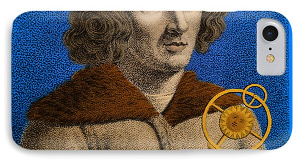Nicolaus Copernicus, Polish Astronomer Phone Case by Omikron