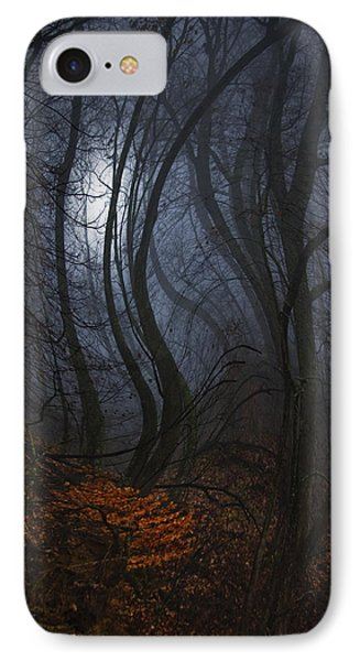 Night Walks IPhone Case by Ron Jones