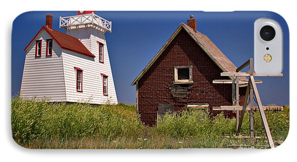 North Rustico Lighthouse IPhone Case by Louise Heusinkveld