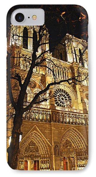 Notre Dame De Paris Phone Case by Elena Elisseeva