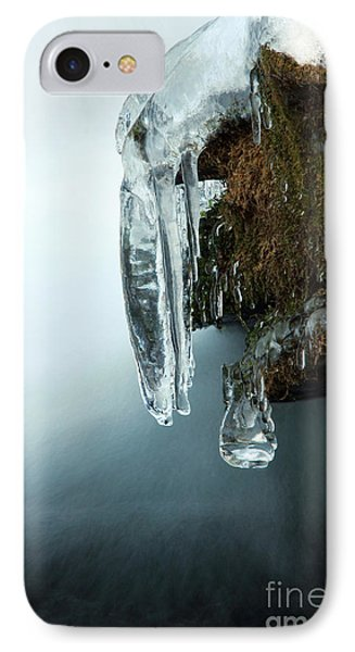 Of Ice And Water IPhone Case by Darren Fisher