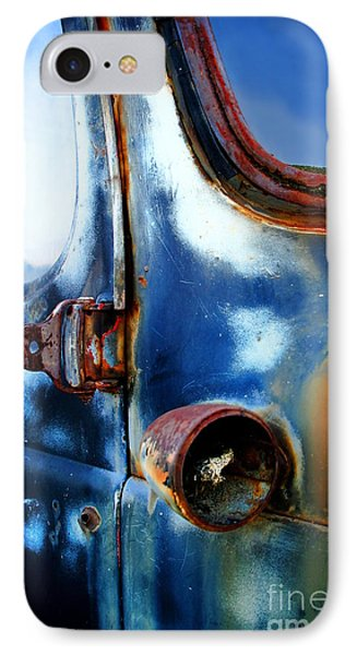 Old Car IPhone Case by Henrik Lehnerer