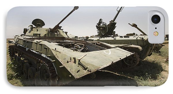 Old Russian Bmp-1 Infantry Fighting Phone Case by Terry Moore