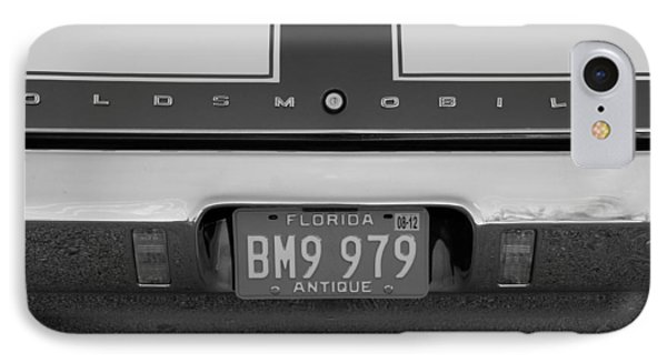Olds Cs In Black And White Phone Case by Rob Hans