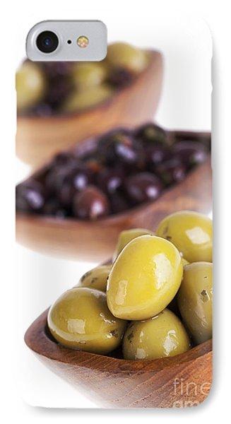 Olive Bowls Phone Case by Jane Rix