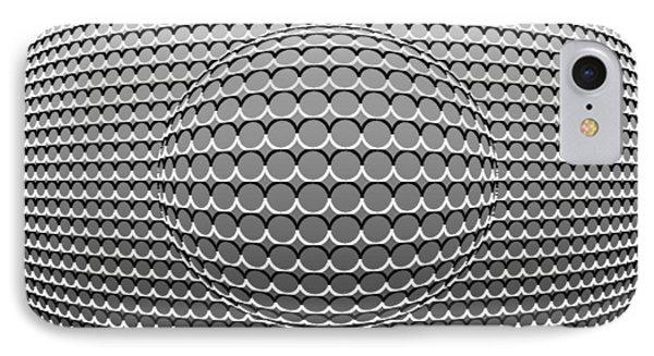 Optical Illusion Circle In Circle Phone Case by Sumit Mehndiratta