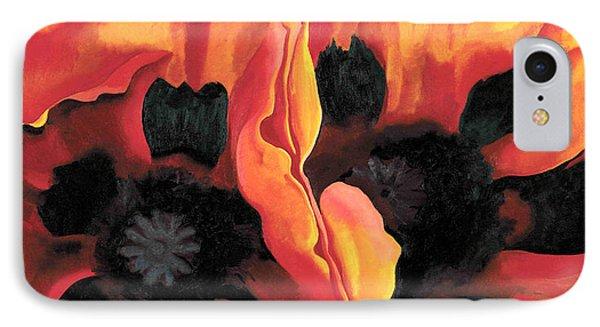 Orange Flowers  IPhone Case by Sumit Mehndiratta