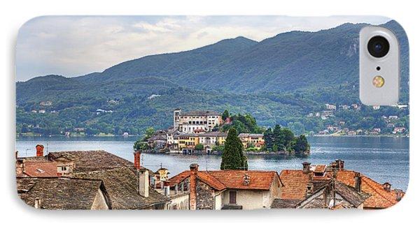 Orta - Overlooking The Island Of San Giulio Phone Case by Joana Kruse