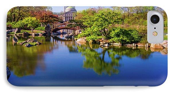 Osaka Japanese Garden IPhone Case