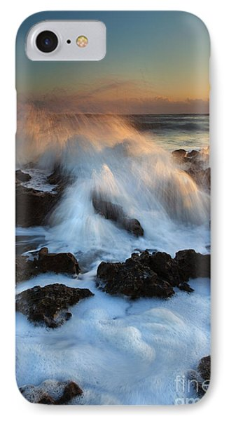 Over The Rocks Phone Case by Mike  Dawson