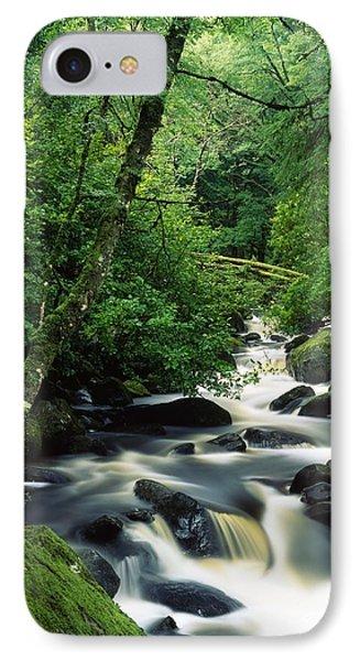 Owengarriff River, Killarney National IPhone Case by Richard Cummins