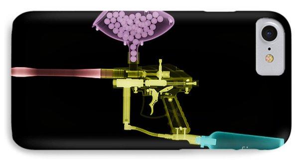 Paintball Gun Phone Case by Ted Kinsman