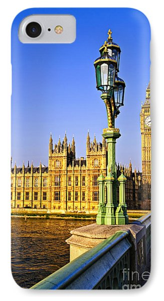 Palace Of Westminster From Bridge Phone Case by Elena Elisseeva