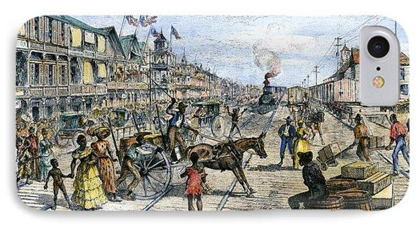 Panama Railway, 1888 IPhone Case by Granger