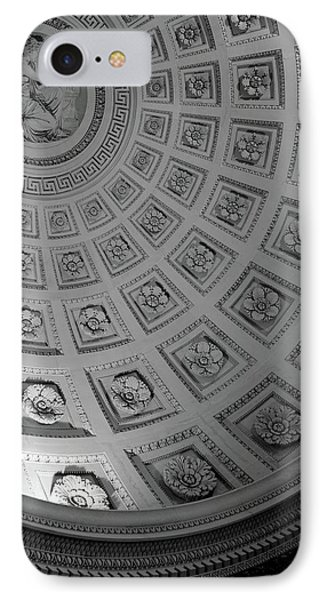 Pantheon Dome IPhone Case by Sebastian Musial