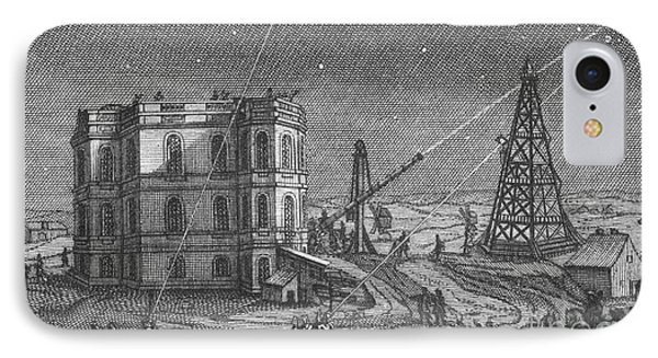 Paris Observatory, 17th Century Phone Case by Science Source