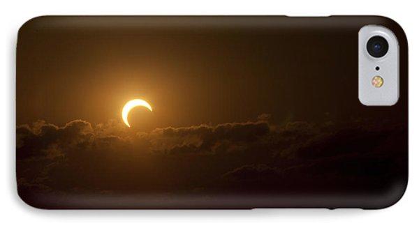 Partial Solar Eclipse Phone Case by Phillip Jones