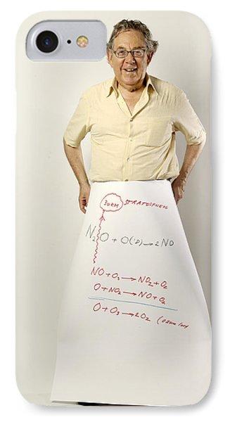 Paul J. Crutzen, Dutch Chemist Phone Case by Volker Steger
