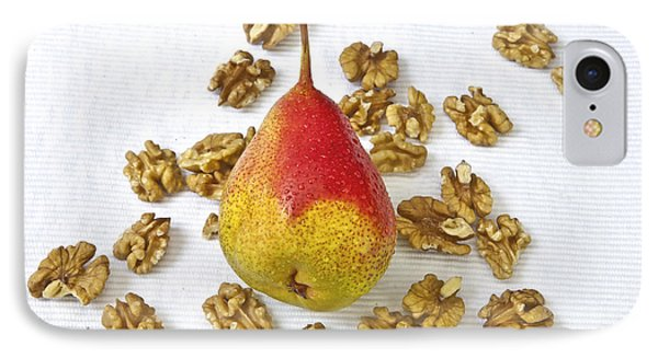 Pear With Walnuts IPhone Case by Joana Kruse