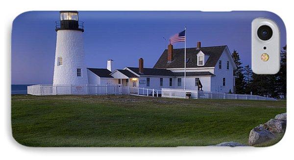 Pemaquid Point Lighthouse IPhone Case by Brian Jannsen