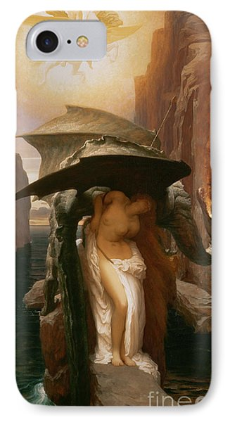 Perseus And Andromeda IPhone Case by Frederic Leighton