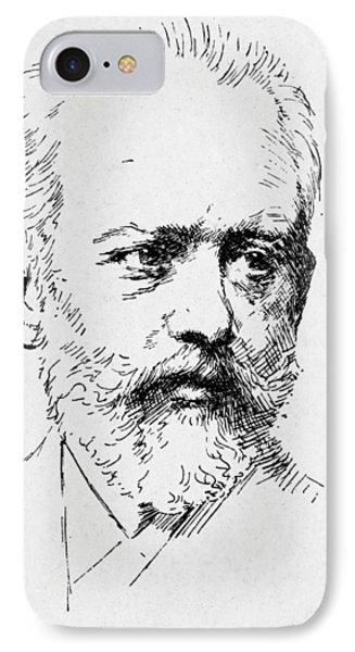 Peter Ilich Tchaikovsky Phone Case by Granger