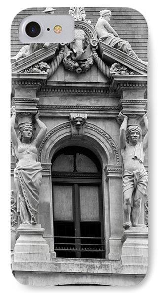 Philadelphia City Hall Window Phone Case by Bill Cannon