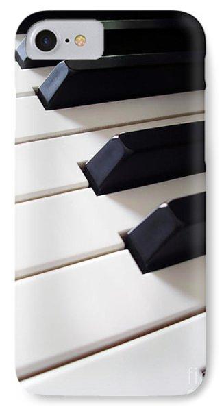 Piano Keys Phone Case by Carlos Caetano