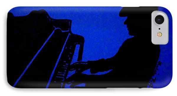 Piano Man Phone Case by Julie Brugh Riffey