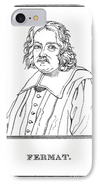 Pierre De Fermat, French Mathematician Phone Case by Science Source