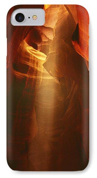 Pillars Of Light - Antelope Canyon Az Phone Case by Christine Till