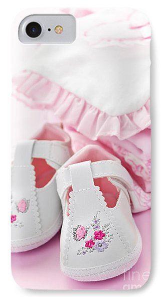 Pink Baby Clothes For Infant Girl Phone Case by Elena Elisseeva