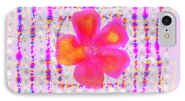 Pink On Pink IPhone Case by Barbara Moignard