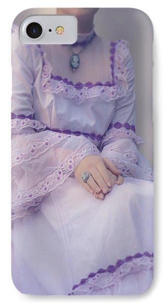 Pink Wedding Dress Phone Case by Joana Kruse