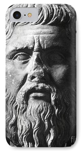 Plato (c427 B.c.-c347 B.c.) Phone Case by Granger