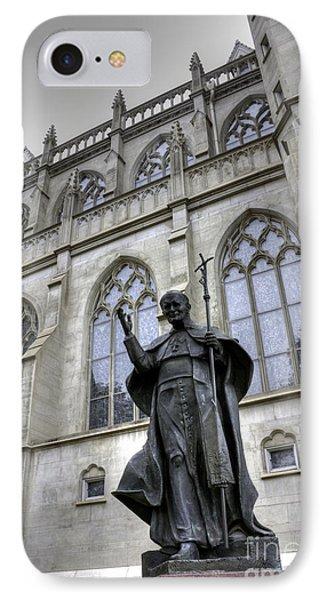 Pope John Paul I I IPhone Case by David Bearden