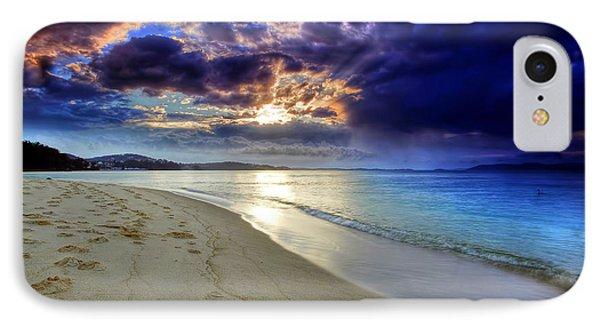 Port Stephens Sunset IPhone Case by Paul Svensen