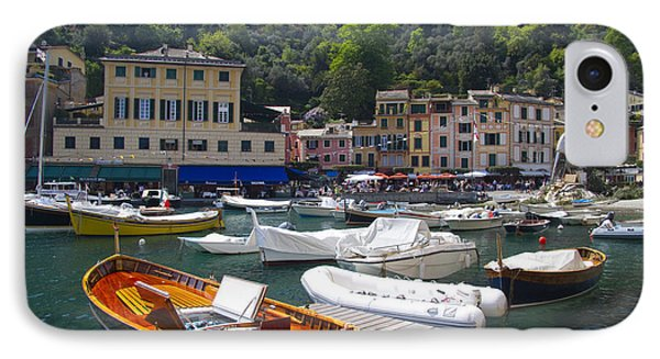 Portofino In The Italian Riviera In Liguria Italy Phone Case by David Smith