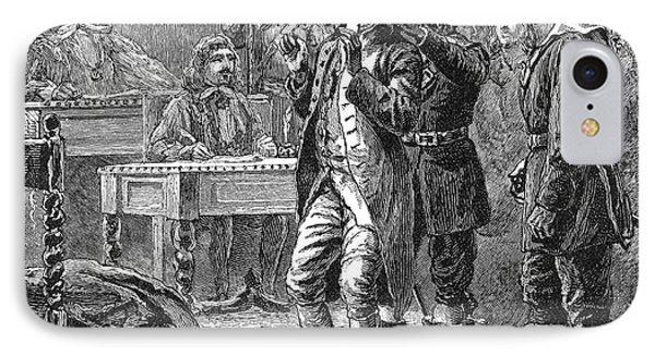 Puritan Punishment Phone Case by Granger