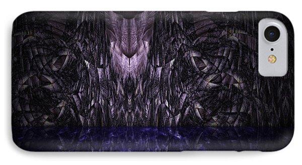 Purple Caverns Phone Case by Christopher Gaston