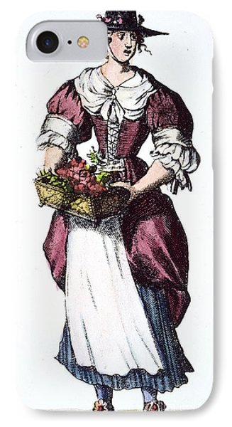 Quaker Woman 17th Century Phone Case by Granger
