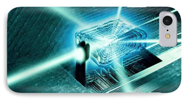 Quantum Computer Core Phone Case by Richard Kail